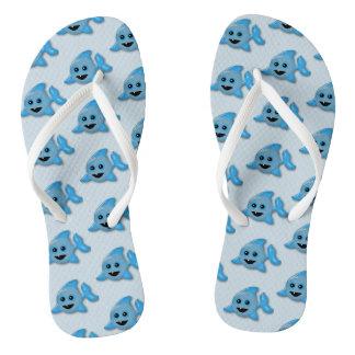 Baby Sharks Flip Flops