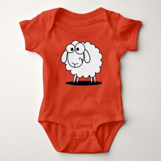 Baby Sheep Baby Bodysuit