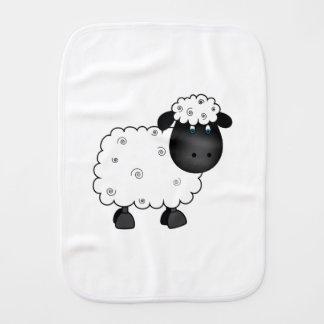 Baby Sheep For Ewe Burp Cloth