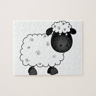 Baby Sheep For Ewe Jigsaw Puzzle