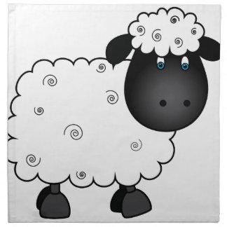 Baby Sheep For Ewe Napkin