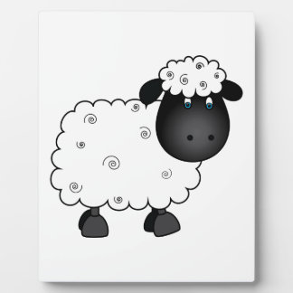 Baby Sheep For Ewe Plaque
