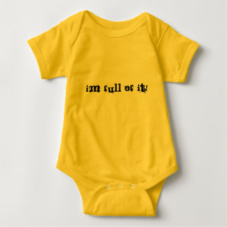 BABY SHIRT WITH BUTT VELCRO THING