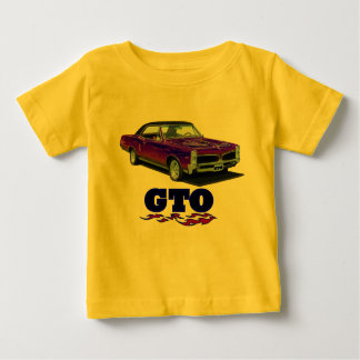 "Baby Shirt with ""Pontiac GTO"" design"
