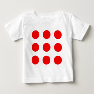 Baby Shirt with Red Polka-Dots