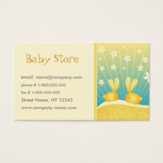 Baby Shop Business Card Template