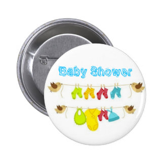 Baby Shower 2 Inch Round Button