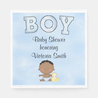 Baby Shower Baby Boy Ethnic Napkin