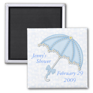 baby shower blue1, Jenny's , Shower, February 2... Magnet