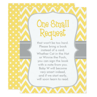 """Baby Shower Book Request 