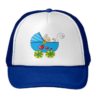 Baby shower boy hats
