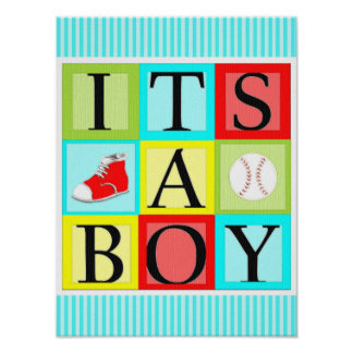 baby shower decorations poster
