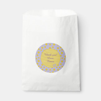 """Baby Shower Favour Bag """"Baby Footprints"""""""