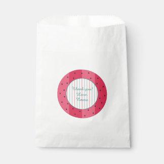 "Baby Shower Favour Bag ""Watermelon Umbrella"""