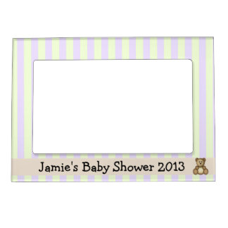 baby shower magnetic frames baby shower picture frame magnets
