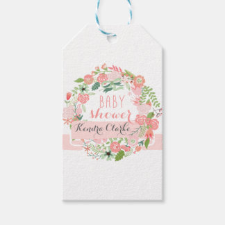 Baby Shower Floral Gift Tags