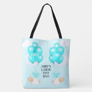 baby shower gift for mom-to-be tote bag