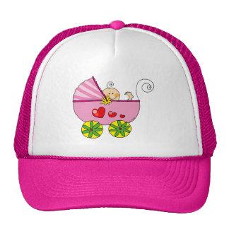Baby shower (girl) trucker hat