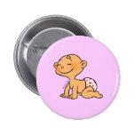 Baby Shower (girl) Pinback Button