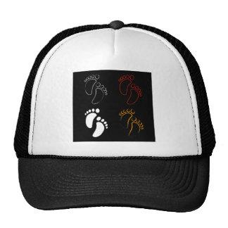 Baby shower graphic trucker hat