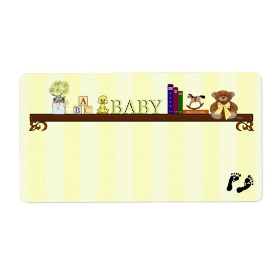 Baby Shower Guest Name Tag-