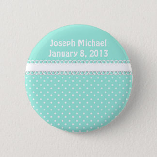 Baby Shower in Teal 2 Inch Round Button