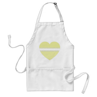 Baby Shower in Yellow Standard Apron