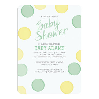 Baby Shower Invitation | Baby Bubbles Neutral