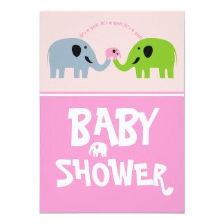 Baby Shower Invitation-Pink
