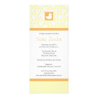 Baby Shower Invitation - Rubber Ducky