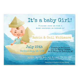 Baby Shower Invitations, Card