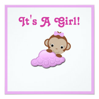 Baby Shower Invite (Girl)