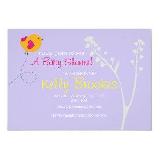 Baby Shower Invite | Love's Bird |lv