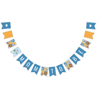 Baby Shower | Jungle Animals for Boy Bunting Flags