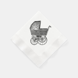 Baby shower napkins by Lighthouse Route™ Disposable Napkin