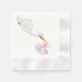 Baby shower napkins by Lighthouse Route™ Paper Napkin