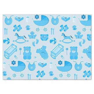 Baby Shower Newborn Boy Gift Wrap Tissue Paper