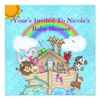 Baby Shower NOAHS ARK  Invitation