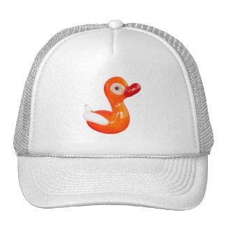 Baby Shower Orange duckling Trucker Hat