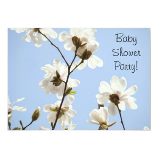 Baby Shower Party! Honoring Mom invitations Flower