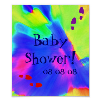 """""""Baby Shower"""" Poster - Customizable"""