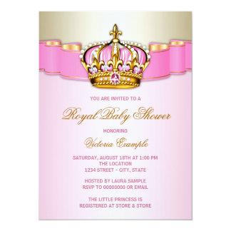 Baby shower royal carton d'invitation  13,97 cm x 19,05 cm