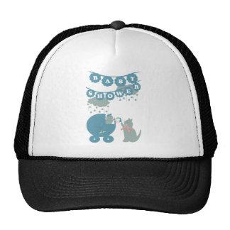 Baby shower servant boy trucker hat