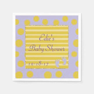 Baby Shower Standard Napkins/Pink Build a Shower Paper Napkins