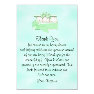 Baby Shower Thank You Gender Neutral Card
