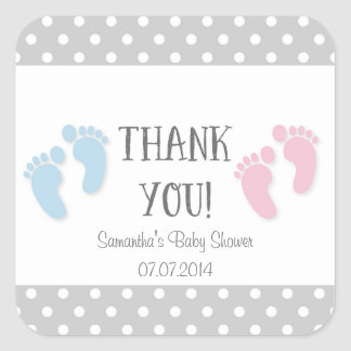 Baby Shower Thank You Stickers