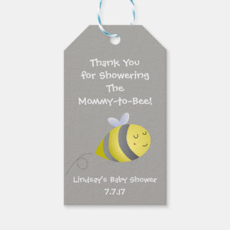 Baby Shower Themed Favor or Gift Tag