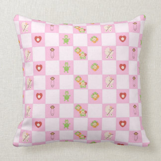 Baby Shower Throw Pillow