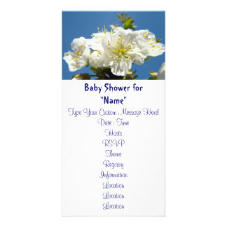 Baby Showers Boys Girls Invitations Cards Moms Photo Cards
