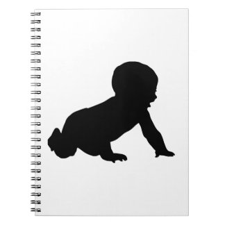 Baby Silhouette Notebook